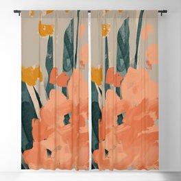 Bouquet Of Summer Citrus Blackout Curtain