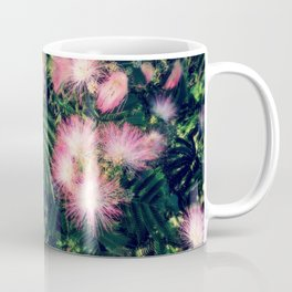 Mimosa Tree Floral Pattern | Photography | Tropical | Pink aesthetic Coffee Mug
