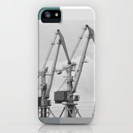 Giraffe crane iPhone Case