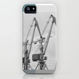 Giraffe crane iPhone Case