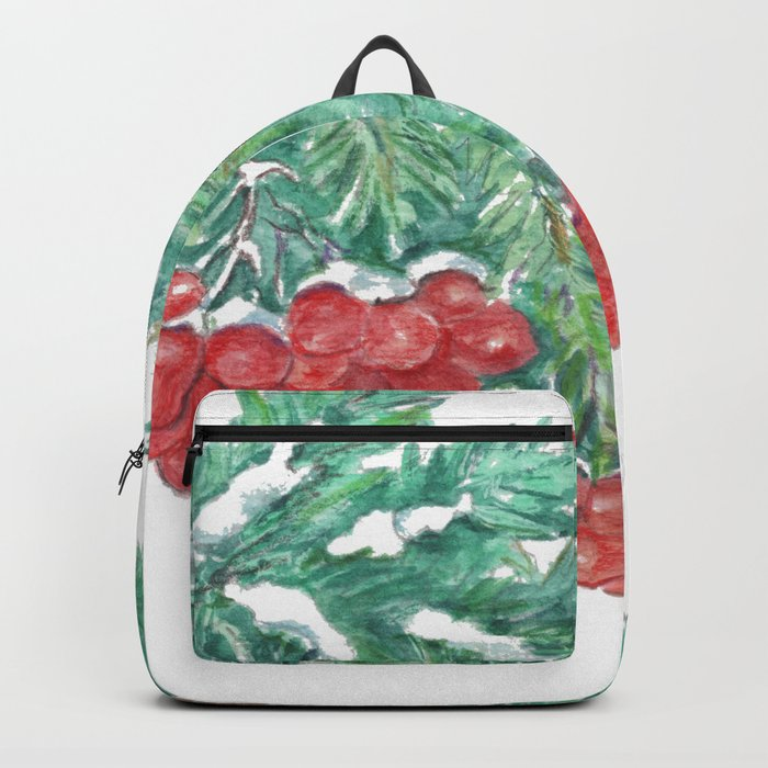 Pine Needles and Berries Backpack