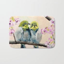 Baby Birds Bath Mat