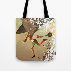 Flying and Hitting Stuff is Awesome Tote Bag