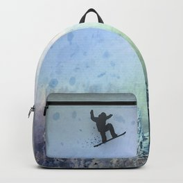 The Snowboarder: Air Backpack