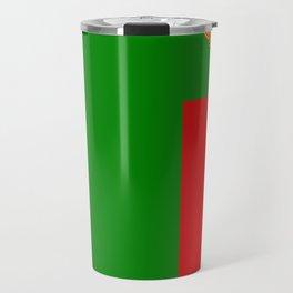 Flag of Zambia Travel Mug