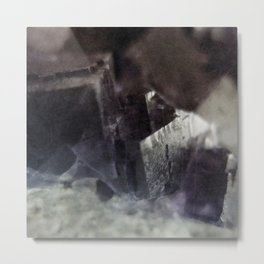 fluorite aura Metal Print