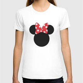 > head bow mouse T-shirt