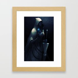 BLUE DIAMOND Framed Art Print