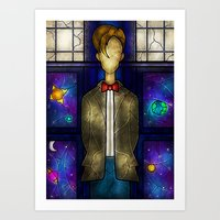 mandie manzano Art Prints featuring The Eleventh by Mandie Manzano