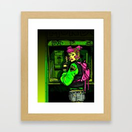 THEY'RE COMING TO GET YOU Framed Art Print