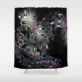 Irregular Abstractions Shower Curtain