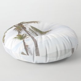Palm Trees Beach Dream #1 #tropical #wall #decor #art #society6 Floor Pillow