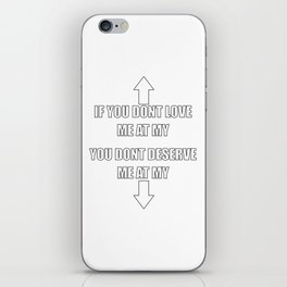 Funny Meme Quote iPhone Skin