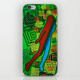 Raimbow Lady iPhone Skin
