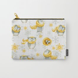 Winter Pattern 6 Carry-All Pouch
