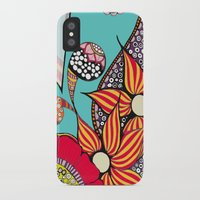 hamsa iPhone & iPod Cases featuring Hamsa by Sophia Skipka