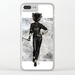 Va-Va-Vamp, Couture Kitty Clear iPhone Case