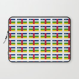 Flag of Central African Republic,car, Bêafrîka,centrafrique,Central African, centrafricain,Oubangui- Laptop Sleeve