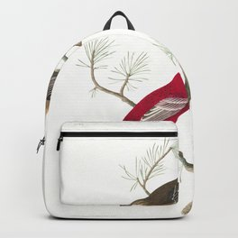 Pine grosbeak, Birds of America, Audubon Plate 358 Backpack