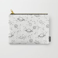 UNIVERSE BLACK AND WHITE Carry-All Pouch