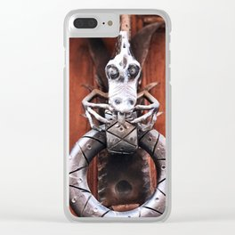 The Dragon Knocks Clear iPhone Case