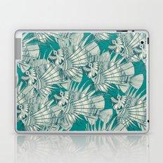 fish mirage teal Laptop & iPad Skin