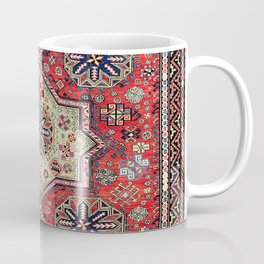 Kuba Sumakh East Caucasus Antique Rug Coffee Mug