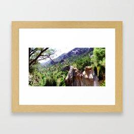 Tonto Panoramic View Framed Art Print