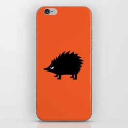 Angry Animals: hedgehog iPhone Skin