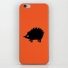 Angry Animals: hedgehog iPhone Skin