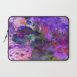 Lilac Chaos - Abstract Laptop Sleeve