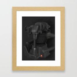 Vintage Norton Motor Framed Art Print