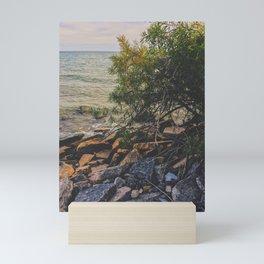 Beach vibes Mini Art Print