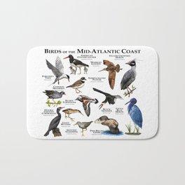 Birds of the Mid-Atlantic Coast Bath Mat