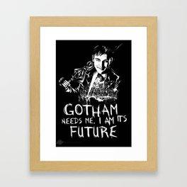 Gotham Needs Me Framed Art Print