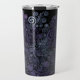 3D Psychedelic Powder Pastel NeuRose Travel Mug