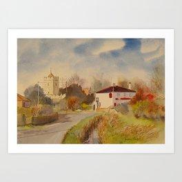 Burmarsh in Kent Art Print