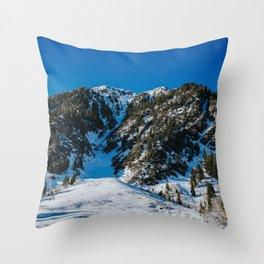 Big Cottonwood Canyon Throw Pillow