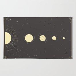 Galactic Gold Rug