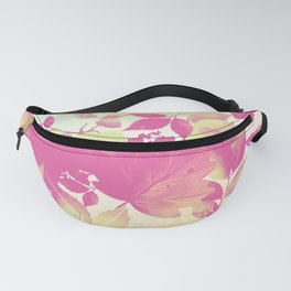 Watercolor Autumn Leaves 7 Fanny Pack