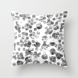 Stamped Throw Pillow