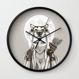 Fear Makes the Wolf... Wall Clock