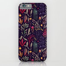 Botanical pattern Slim Case iPhone 6