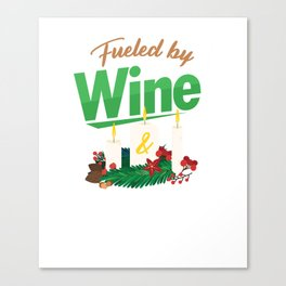 Candlemaker Candlemaking Candlelight Fueled By Wine Chandler Gift Canvas Print