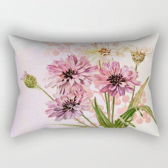 bouquet en rose Rectangular Pillow