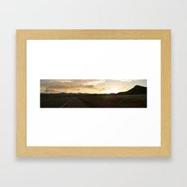 Clouds over Cimarron Framed Art Print