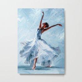 Ballet Ballet Dance Of The Winter Solstice Metal Print
