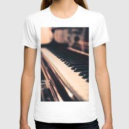 Bach's Piano T-shirt