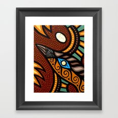 Gateway Of The Sun Framed Art Print
