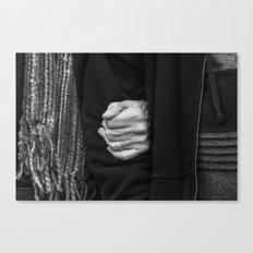 Hands, your hands! Canvas Print